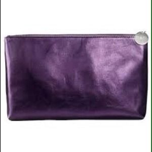 Mark Slight Metallic Purple Make Up Bag BOGO