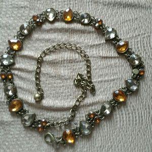 Jewelry - Lovely glass stone Neck or body jewelry