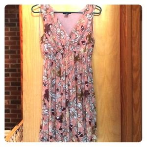 H&M sweet dress butterfly print size xs