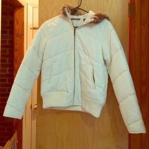 White Liz Claiborne coat