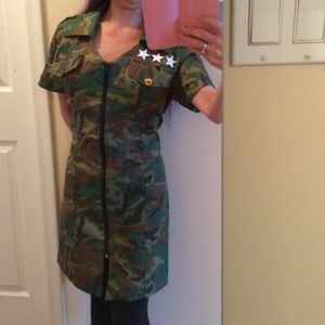 SURRENDER LOVERS LANE army dress
