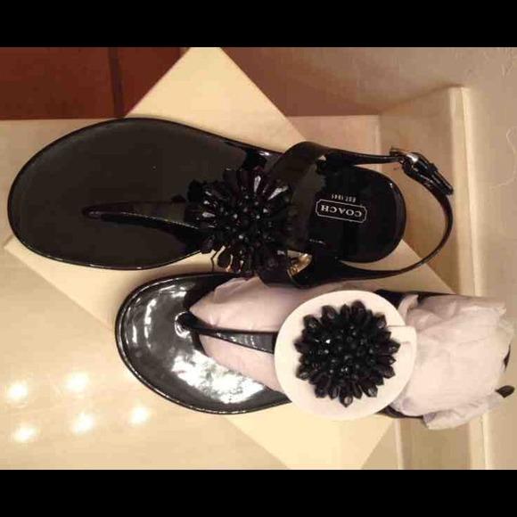 Coach Hilda Jelly Thong Sandals tumblr sale online 2014 cheap price buy cheap nicekicks cheap 100% original xpAqjfQQ