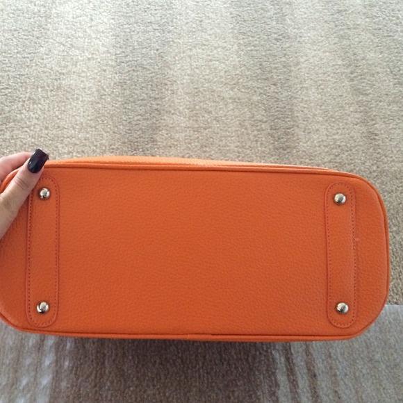 herme birkin bag - Hermes inspired - Orange Hermes inspired handbag not 4 sale from ...