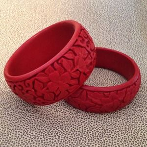 Carved Chinese Bangles!