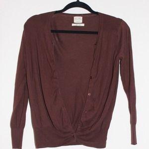 SOLD IN BUNDLE Zara Silk Cotton Cardigan