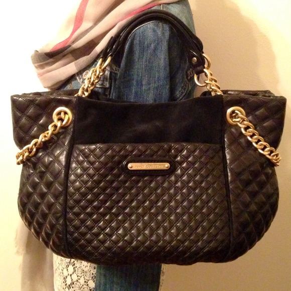 67% off Juicy Couture Handbags - Juicy Couture Quilted Leather Bag ...