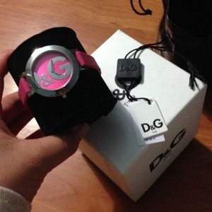 Pink Dolce Watch
