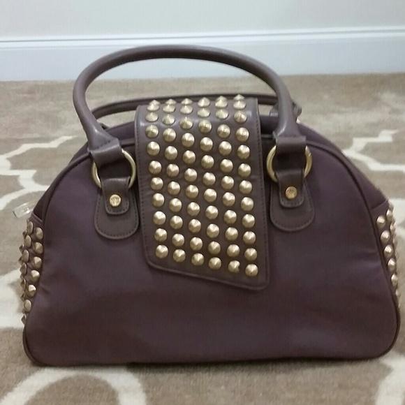 21739836a5 Christian Audigier Handbags - Christian Audigier Gwen Bowler Handbag
