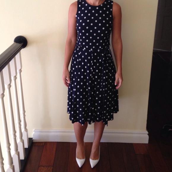 84% off Ralph Lauren Dresses & Skirts - Ralph Lauren navy blue ...