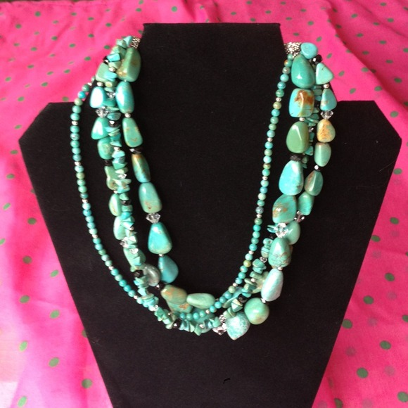 Silpada Jewelry Turquoise Necklace Poshmark