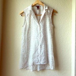 H&M hi-low sleeveless top