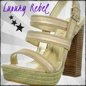 ⭐Luxury Rebel⭐Cute strappy heels
