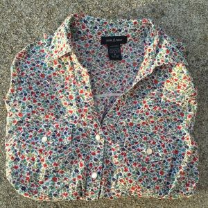 Tops - Floral button up