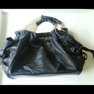 Molalla Navy Blue shoulder handbag by Shoedazzle