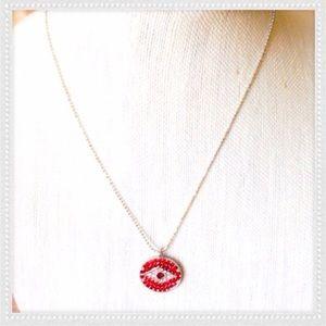 Jewelry - STUNNING EVIL EYE PAVÈ NECKLACE