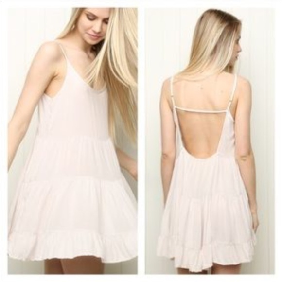 Brandy Melville Light Pink Blush Jada Dress From Steph S Closet On Poshmark