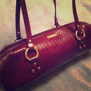 RESERVED! Red Brown Ralph Lauren Snakeskin