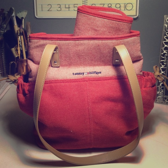 Tommy Hilfiger Bags Diaper Bag Matching Changing Pad