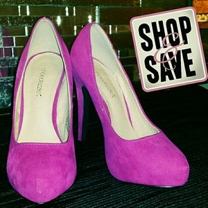 New Special Edition Shoedazzle Pink Heels
