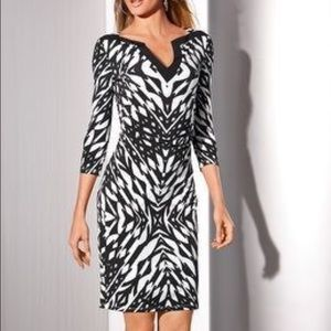 Boston Proper Dresses & Skirts - Sale lowest ❤️New Graphic Print Tunic Dress❤