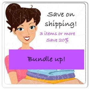 Save 20% by bundling 3 or more items