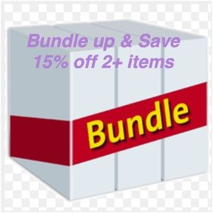 Save 15% by bundling 2 or more items