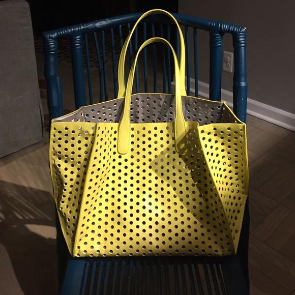Zara Perforated Shopper Bag Perforated Shopper Bag 2
