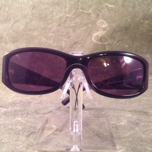 Marc Jacobs Black Sunglasses w/rhinestone Accents