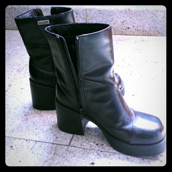 mudd mudd platform 3in ankle boots from a s closet on