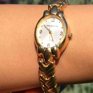 Sale! Gold Bracelet Watch