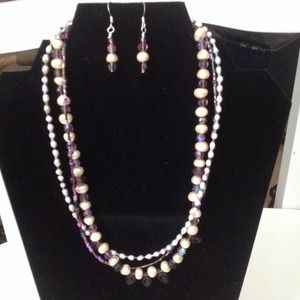 Genuine freshwater pearls