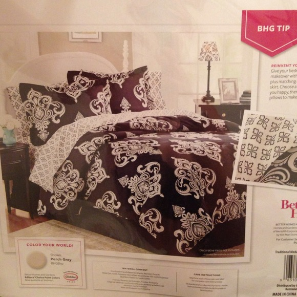 83 Off N A Other Bedroom Set Black And White From