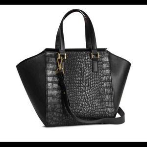 H&M Faux Reptile Patterned Bag
