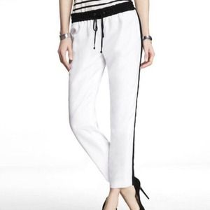 EXPRESS Side Stripe Drawstring Pants