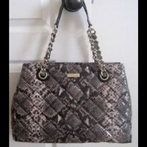Kate Spade !!!New with Tags! Quilted snakeskin bag