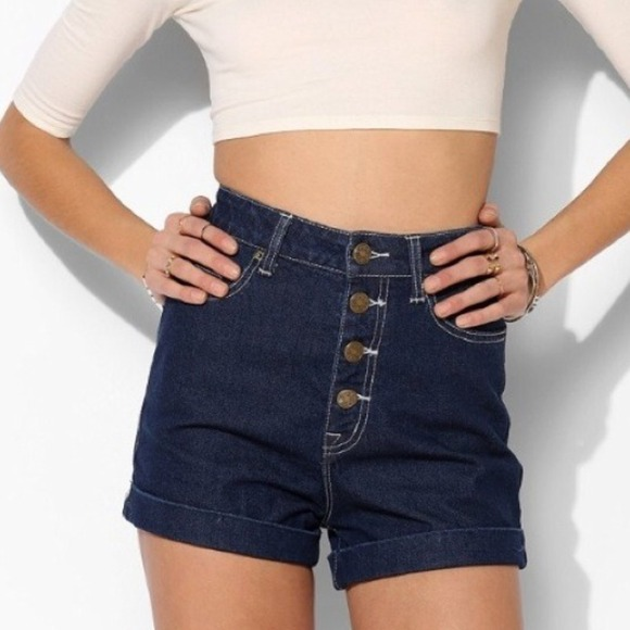 80% off Urban Outfitters Denim - BDG Super Foxy High Waisted ...