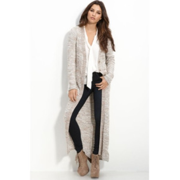 47% off Free People Sweaters - Free People Beverly Maxi Cardigan ...
