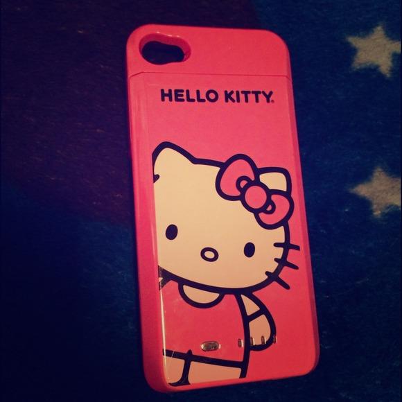 7322926e7 Office Depot Accessories | Hello Kitty Battery Case Iphone 4s | Poshmark