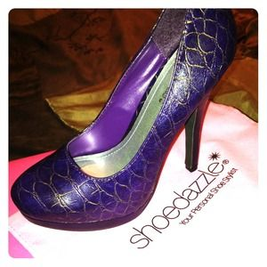 Purple heels!!!