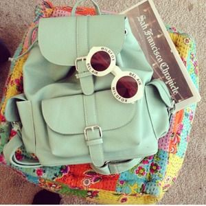 Handbags - Mint backpack