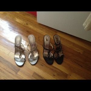 2 beautiful pair of sandals great deal 