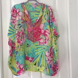 Lilly Pulitzer Tops - ⚡️SALE TODAY ONLY️⚡️Lilly Pulitzer Caftan