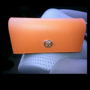 Authentic Tory Burch sunglasses case