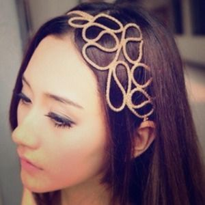 Accessories - Vintage gold inspired headband