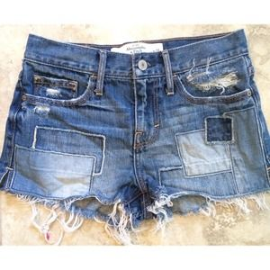 A&F high waisted shorts