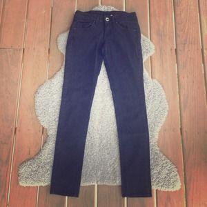 MNG Jeans Denim - black skinny jeans