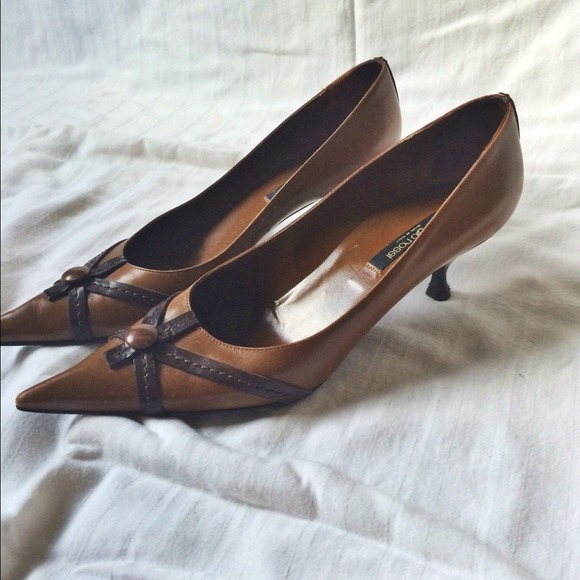 Sergio Rossi Shoes - ✨REDUCED: Sergio Rossi leather heels