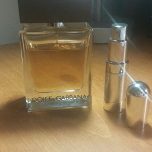 "Dolce & Gabbana ""The One"" 6 ML sample in atomizer"