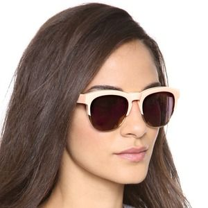 Wildfox Couture Fox Deluxe Mirrored Sunglasses