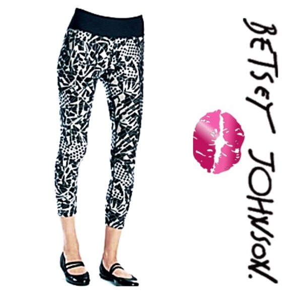 4dc2da2e404784 Betsey Johnson Pants | Performance Capris Nwt | Poshmark